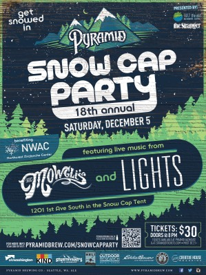Snow Cap Party poster